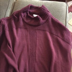 Sweaters - Burgundy Maurices poncho